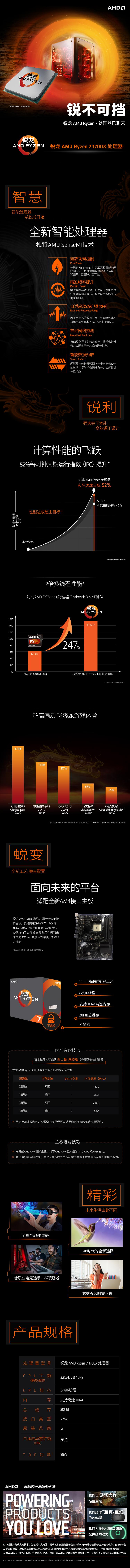 锐龙 AMD Ryzen 7 1700X 处理器 20170302V2.jpg